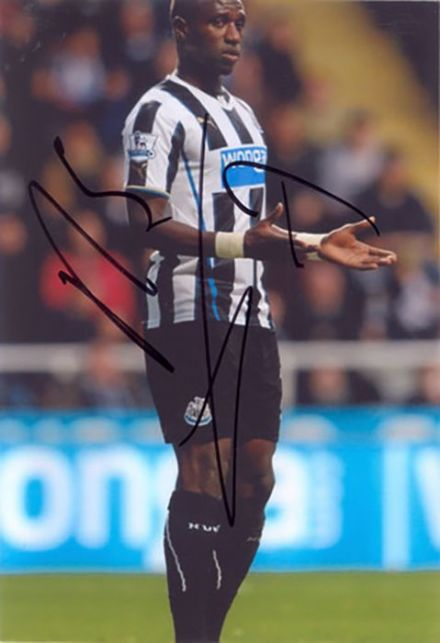 Moussa Sissoko, Newcastle Utd & France, signed 6x4 inch photo.
